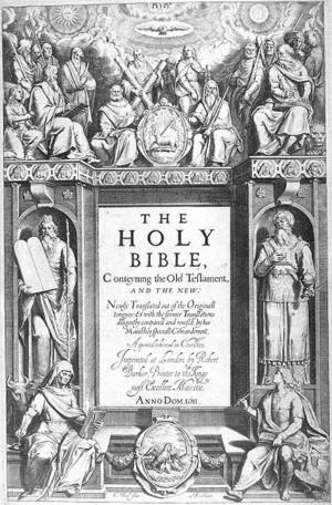 欽定訳聖書/ジェイムズ王訳(King James Version)